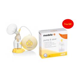Medela Swing Breast Pump + Pump & Save Bags