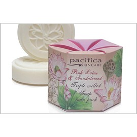 Pacifica Twin Pack Boxed Soaps - 3 Fragnances