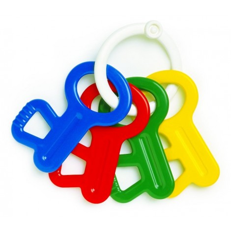Ambi First Keys - Teether/ Rattle for 3+ Months