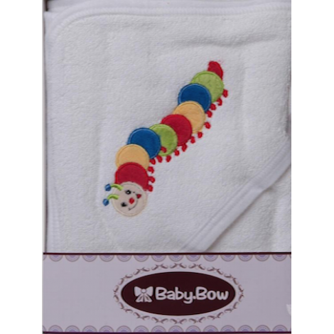 Caterpillar Hooded Towel
