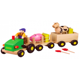Discoveroo Farm Set with Tools for 3+ Years
