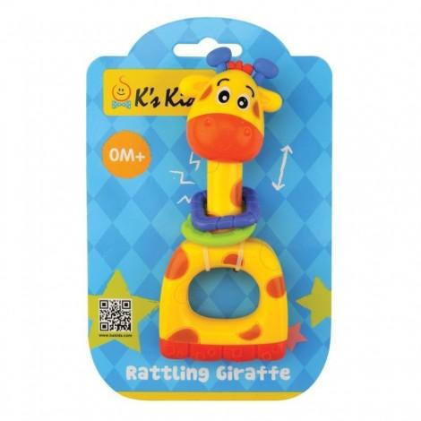 K's Kids – Rattling Giraffe - From Birth