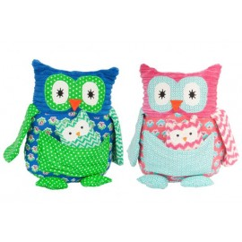Lily & George Super Cute Mama & Papa Owls