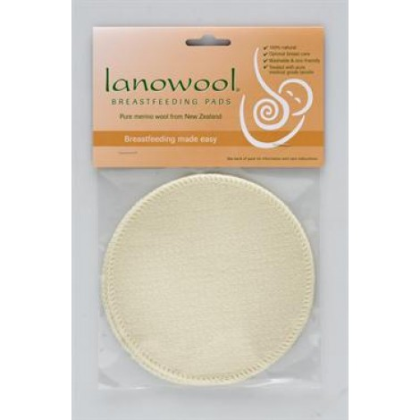 Lanowool Breast feeding pads (2 pads in a pack)