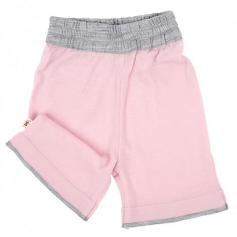 Cocooi Lightweight Merino Shorts -  Pink  6 - 12months