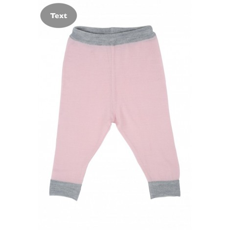 Cocooi Lightweight Merino Leggings - Light Pink 3 - 6months