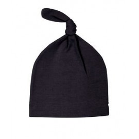 Moby Knot Hats - 6 - 12 Months - Black or Moss