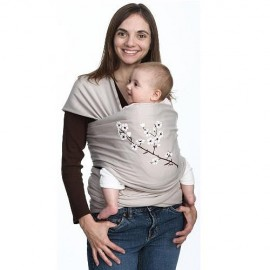 Moby Wrap Design - Almond Blossom  - Midweight