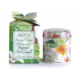 Tropical Lime and Coconut Votive Candle