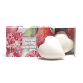 Pacifica Pomegranate Heart Soaps (boxed)