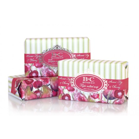 Banks & Co Sweet Fig & Cherry Soap