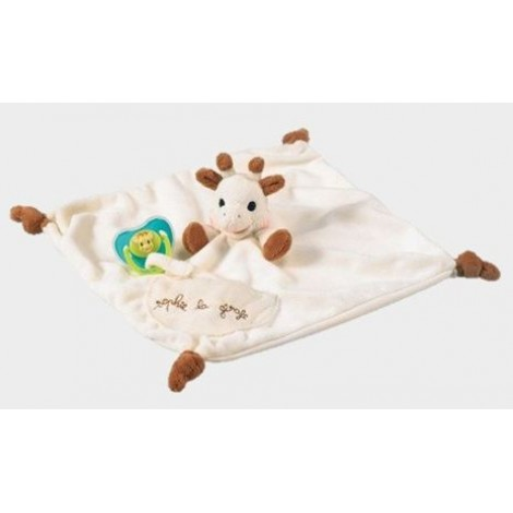 Sophie The Giraffe Comforter & Soother Holder - from Birth