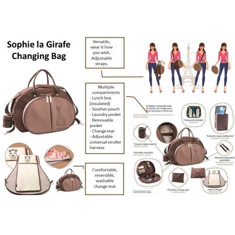 Sophie La Girafe -  Nappy Change Bag