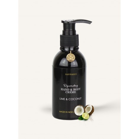 Surmanti Lime & Coconut Hand & Body Creme 120mls