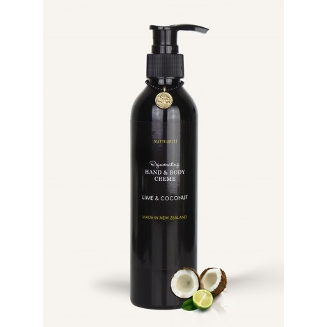 Surmanti Lime & Coconut Hand & Body Creme 250mls