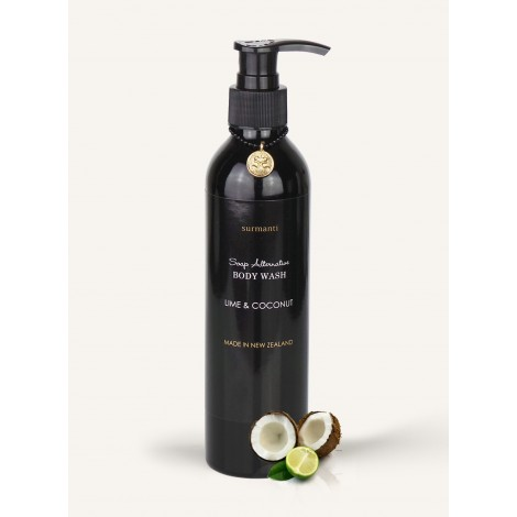 Surmanti Lime & Coconut Body Wash - Soap Alternative