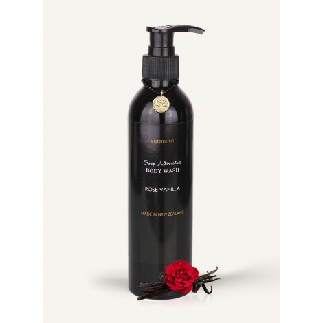 Surmanti Rose Vanilla Body Wash - Soap Alternative