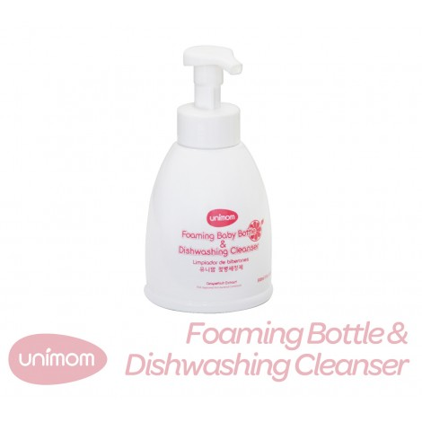 Unimom Foaming Baby Bottle & Dishwashing Cleanser