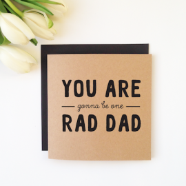 Rad Dad - For Dads Card
