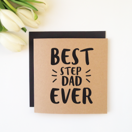 Step Dad - For Dads Card