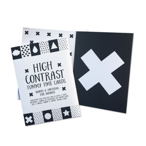 Contrast Tummy Time Cards