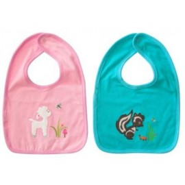 Lily & George Woodland Tail Bibs
