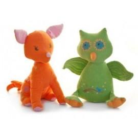 Lily & George Poppy Fox & Wink Owl