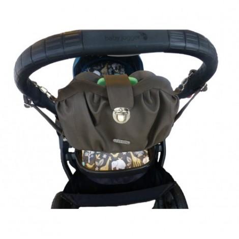 Elektra Elite Taupe Pram Bag Organiser